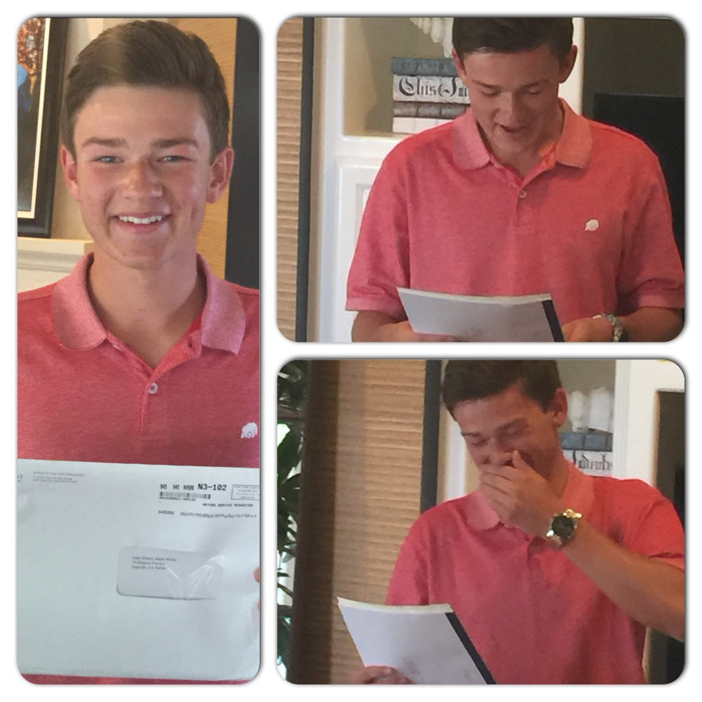 OPENING HIS MISSION CALL
