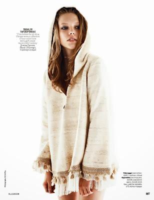 Anna Lund, Mathilda Tolvanen HQ Pictures Elle UK Magazine Photoshoot March 2014