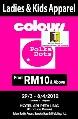 Colours Polka Dots Ladies & Kids Apparels Warehouse Sale