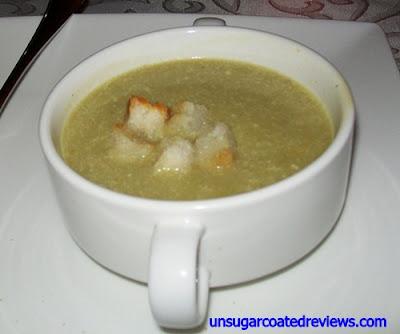 Le Bistro D'Agathe cucumber soup