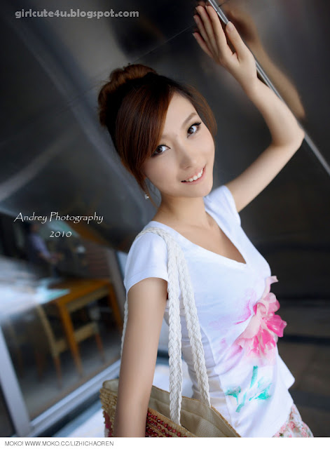 Li-Fan-Pink-and-White-11-very cute asian girl-girlcute4u.blogspot.com