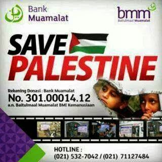 Donate For Gaza Baitulmaal Bank Muamalat