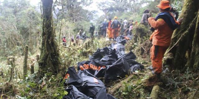 Tantangan berat tim SAR evakuasi korban Trigana Air di hutan Papua