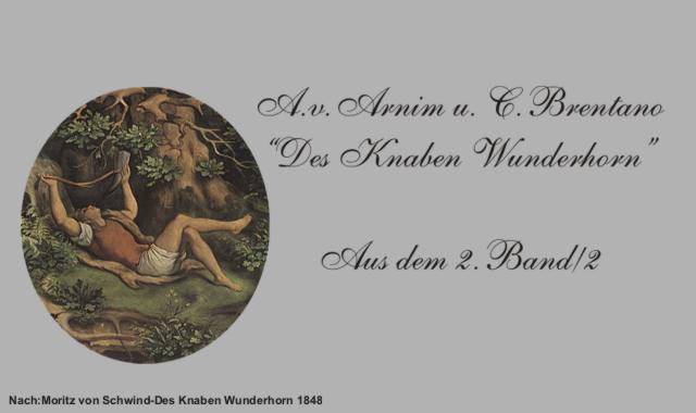 Gedichte Und Zitate Fur Alle Des Knaben Wunderhorn 2 2