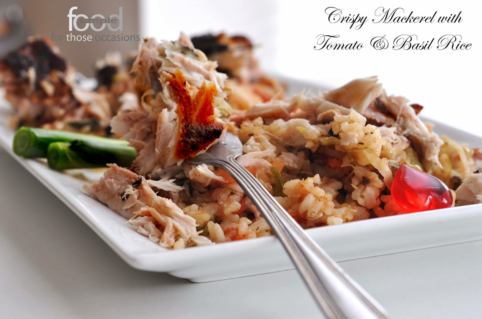 Crispy Mackerel ~ Simple Food