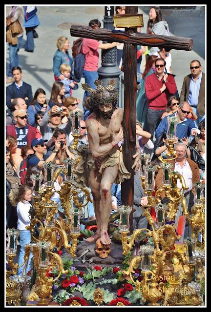 Cristo Varón de Dolores Sevilla 2013 El Sol