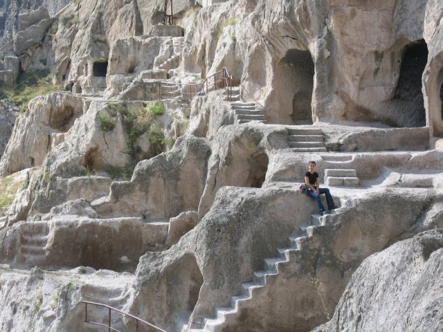 Vardzia Cave Monastery in Georgia