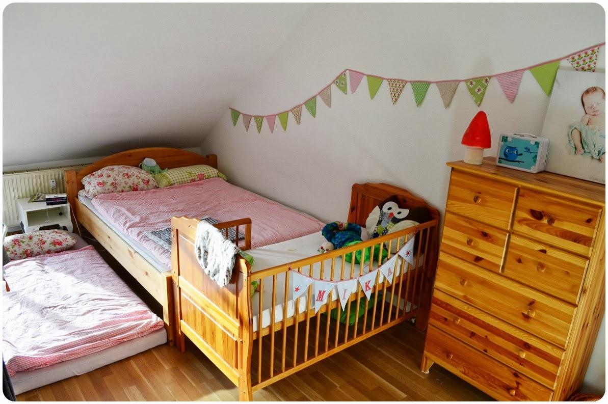 Punkelmunkel: ein einblick ins schlaf/kinderzimmer