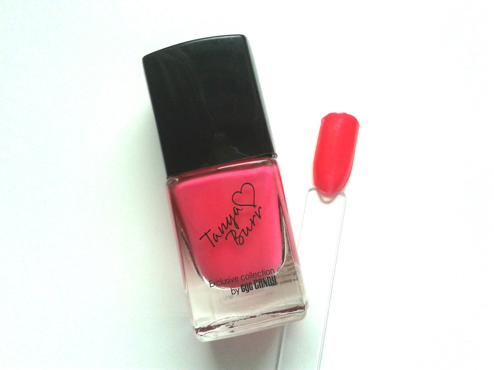 Tanya Burr Lips and Nails Nail Polishes Review Swatch Swatches Be Bright Be Happy Be You
