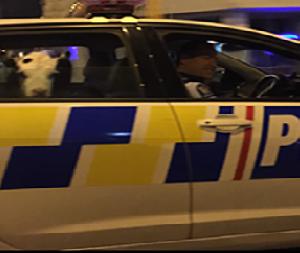 Bezerro perdido dá rolê no carro da polícia da Nova Zelândia