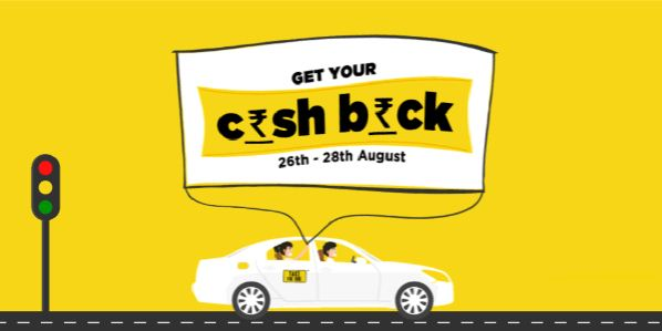 TaxiForSure 75 Rs cashback