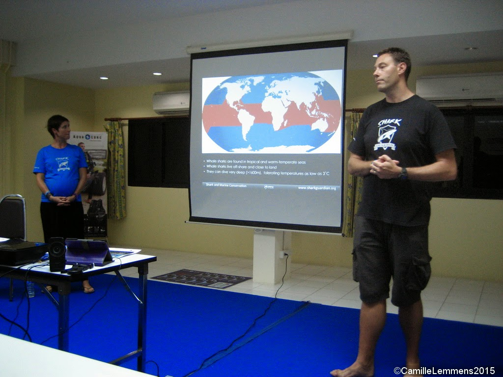 Shark Guardian presentation in Phuket