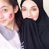 SENSASI !! Bekas ciuman bibir di pipi Ameera adik perempuan Neelofa undang tanda tanya