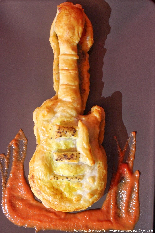 chili con carne in crosta di sfoglia les paul - i love rock and roll