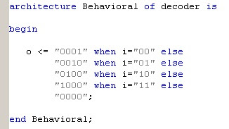 vhdl signal assignment in procedure