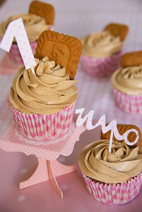 ¡primer Cumpleblog! Y Cupcakes De Speculoos Para Celebrarlo.