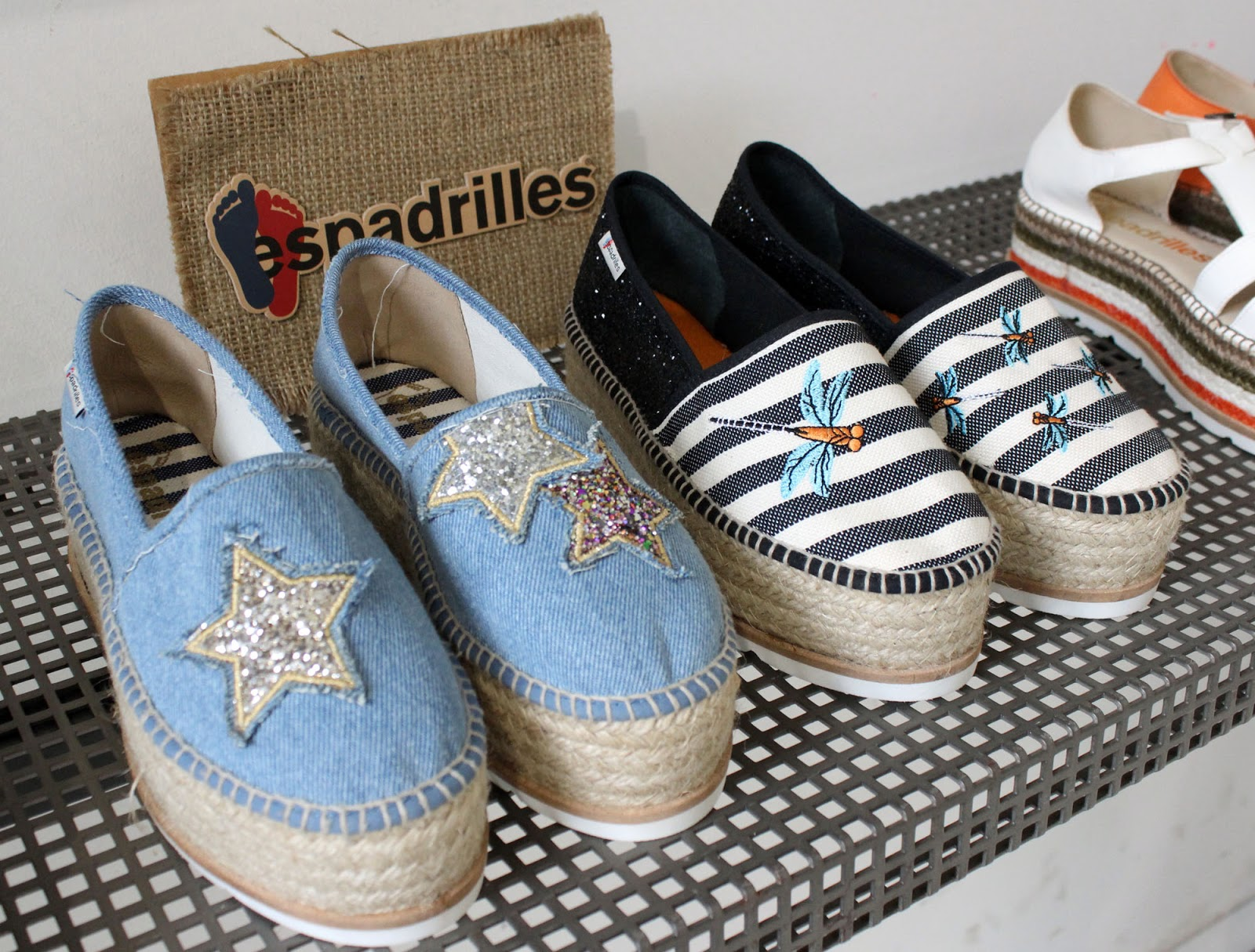 Eniwhere Fashion - White Milano Espadrilles