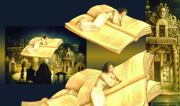 claude verlinde pinturas surreais realismo fantástico sonhos pesadelos