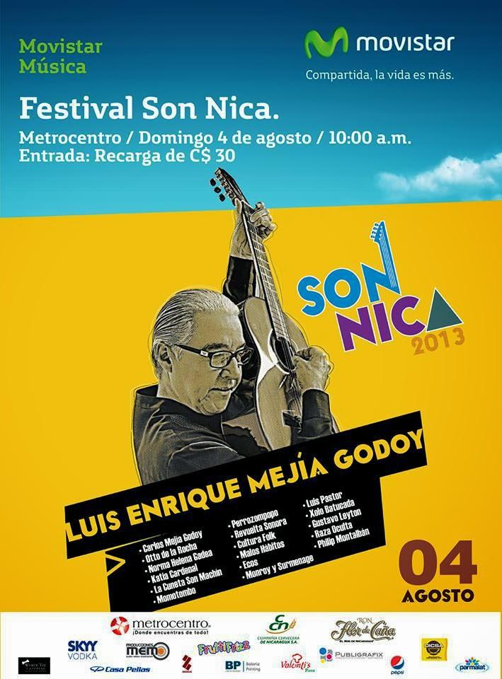 Son Nicas 2013 varios artistas homenaje a Luis Enrique Mejía