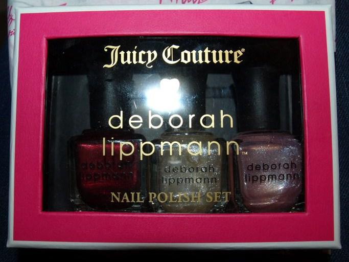 Beau chaton: Deborah Lippmann for Juicy Couture!