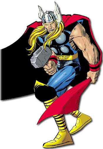 Dibujo de Thor por John Romita Jr.