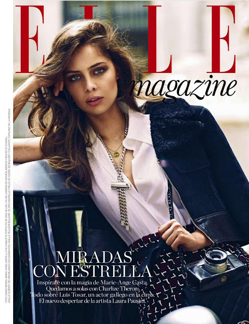 Fashion Model, Actress @ Marie Ange Casta - Elle Spain, August 2015