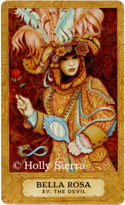 Chrysalis Tarot, Bella Rosa, The Devil