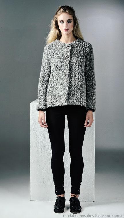 Sacos invierno 2015 moda mujer Mancini.