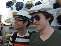 Mens summer fedora and newsboy cap at The Hat House NY