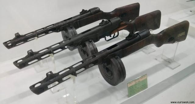 Ametralladoras chinas usadas en la Guerra de Corea