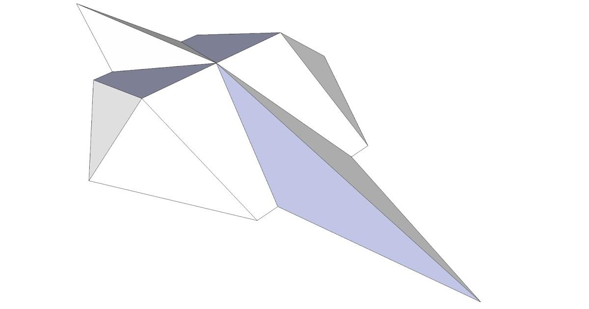 Roof framing geometry world skills international for Hexagonal roof framing