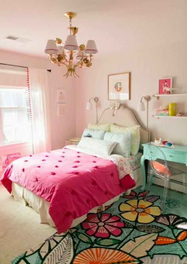 Dormitorios juveniles para chicas dormitorios colores y - Paredes habitacion juvenil ...