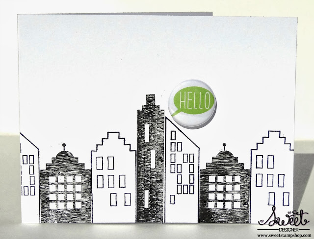 Sweet Stamp Shop - Cityscape and Flair