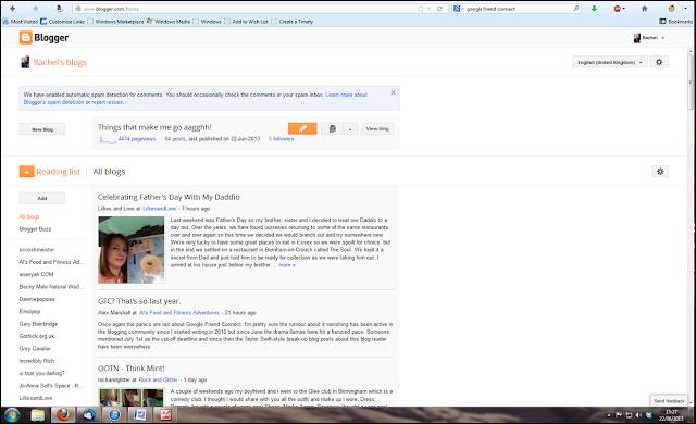Screenshot from Google Friend Connect