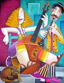 A música é lingua, arte e ciencia.