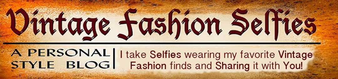 Vintage Fashion Selfies