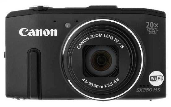 Harga dan Spesifikasi Canon Powershot SX280 HS - 12.1 MP