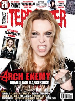 Arch Enemy, Angela Gossow