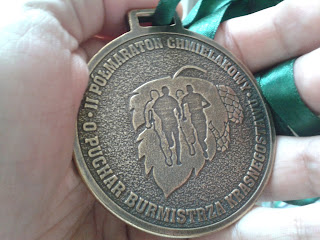 medal II Półmaratonu Chmielakowego