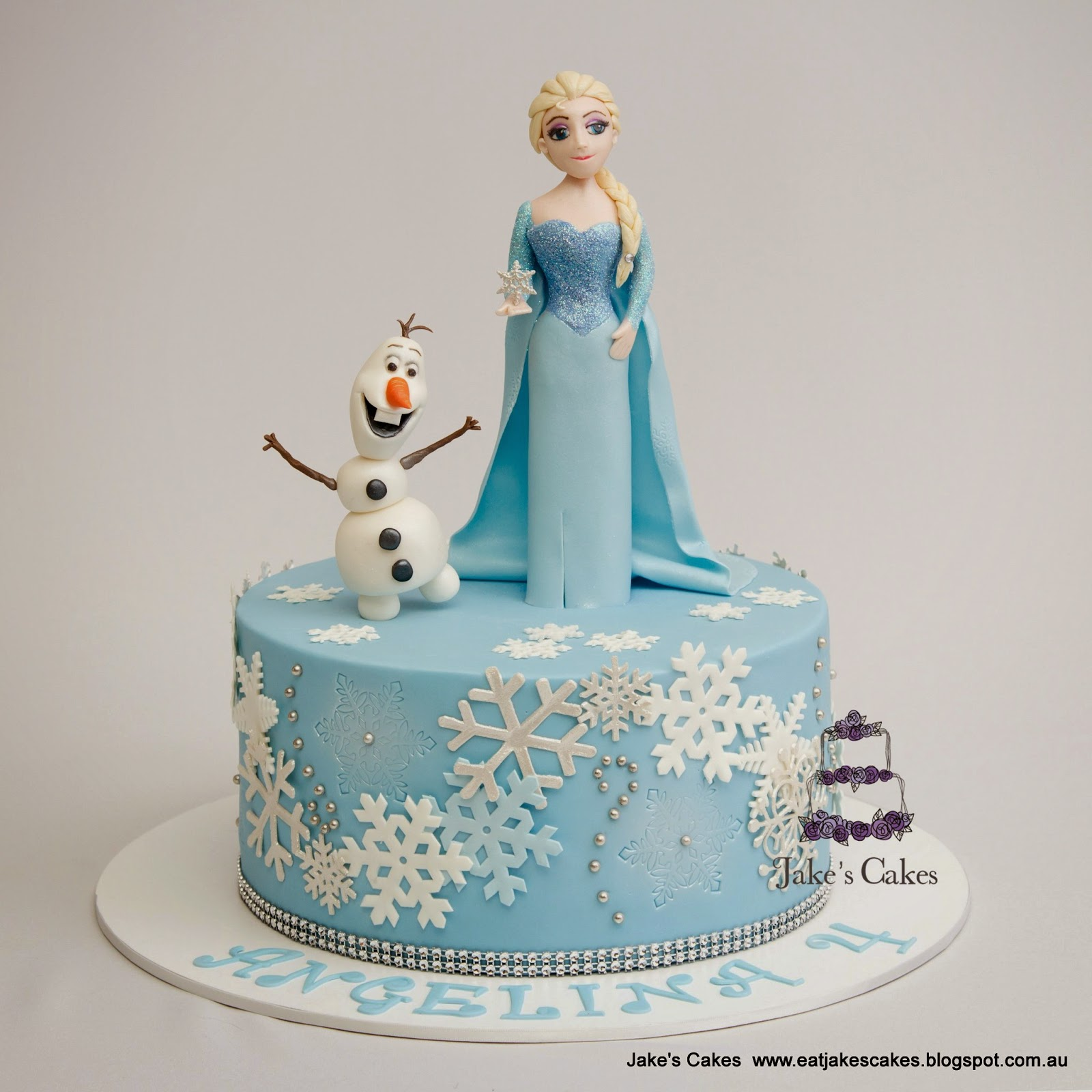 Frozen Design Birthday Cakes