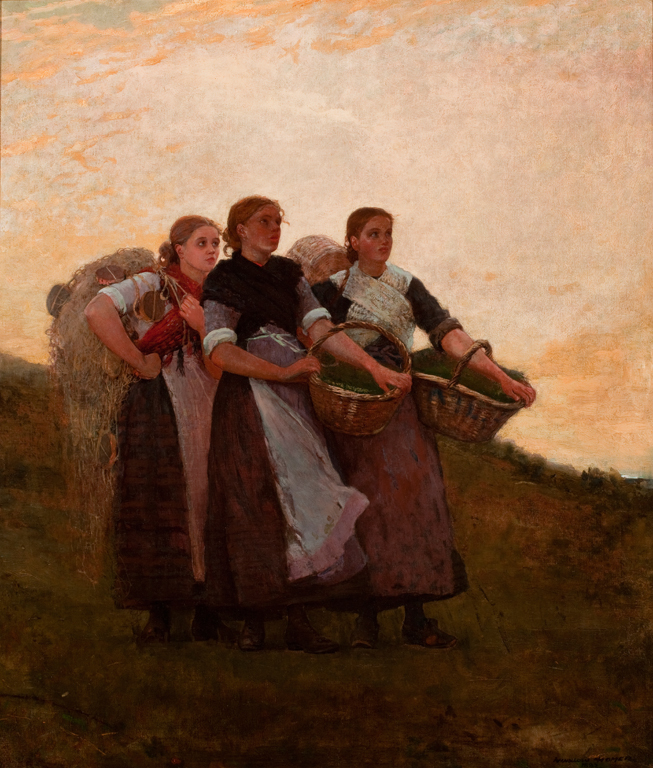 an introduction to the life and work by homer winslow and jules breton Winslow homer paintings and art were the stock of dozens of painters like jules breton, jules bastien-lepage and homer winslow paintings adirondack have the.