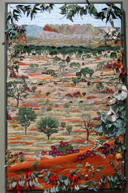 Wildflower quilt Alice Springs
