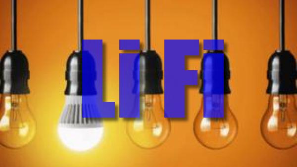 تقنية Li-Fi أسرع من Wi-Fi بمئة مرة