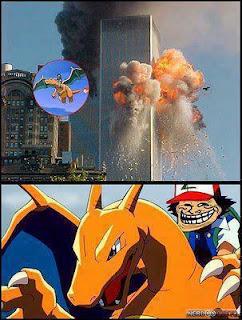 torres gemelas atentado charizard ash pokemon