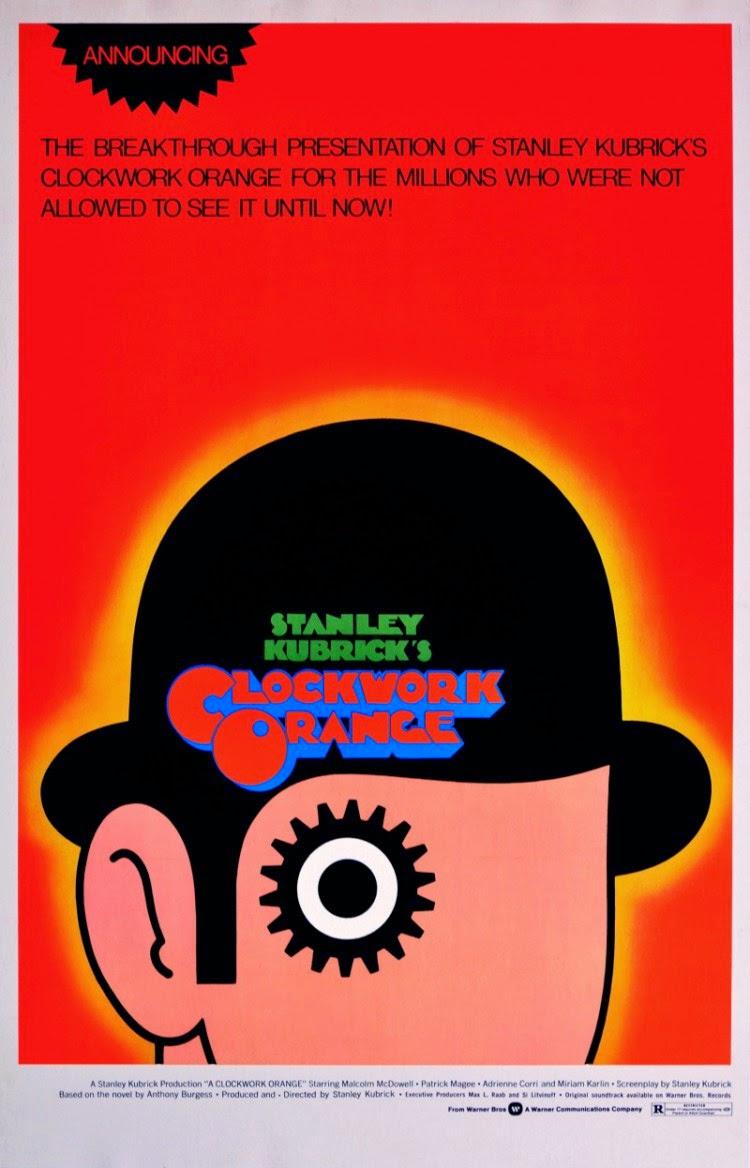 A CLOCKWORK ORANGE (Dir. Stanley Kubrick, 1971) | Discreet ...