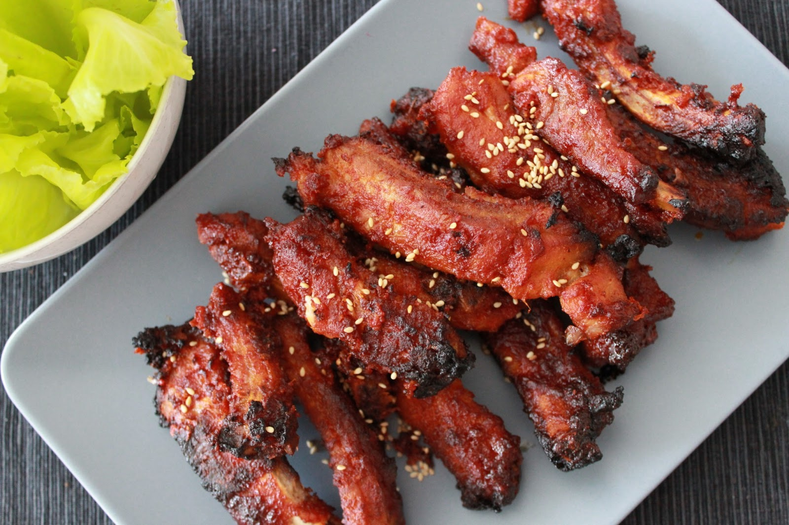 How to cook marinade for pork ribs