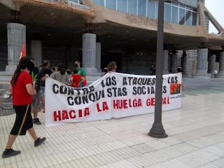CNT Cartagena Concentración