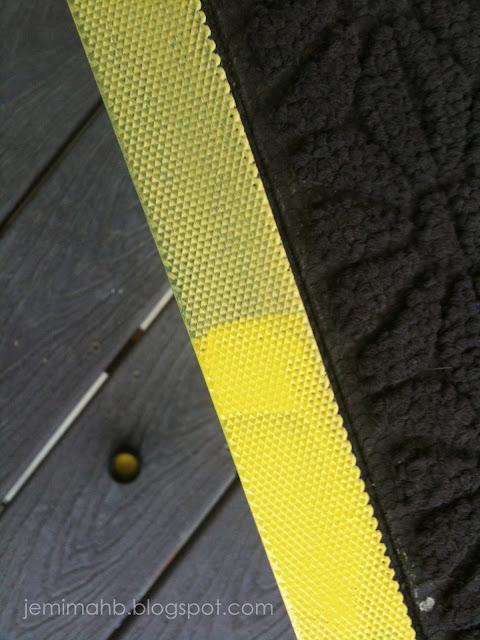 penny pincher doormat tutorial | jemimahb.blogspot.com