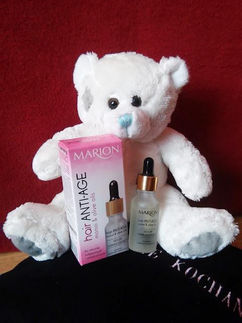 marion serum odmładzające anti age do włosów dojrzałych, osłabionych i zniszczonych