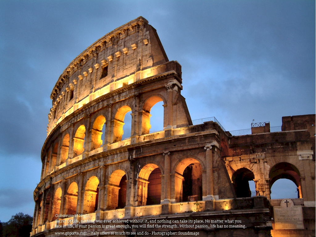 The Colosseum   Roman ...